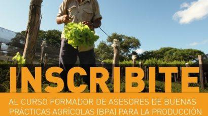 Inscripción abierta al curso de Oficial de Formador de Formadores de BPA para la producción de frutas y hortalizas frescas