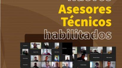 Nuevos Asesores Técnicos habilitados