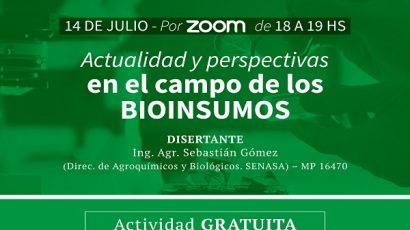 Actualidad y perspectiva en el campo de los Bioinsumos