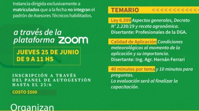 Programa Anual de Capacitación Profesional 2020