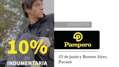 Descuentos en PAMPERO Paraná