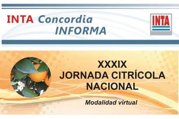 XXXIX Jornada Citrícola Nacional