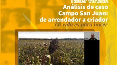 Se realizó el Taller de análisis de caso Campo San Juan