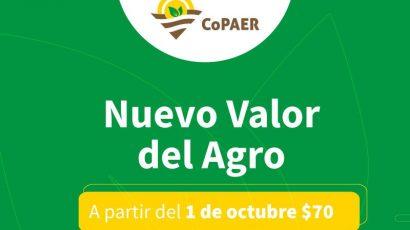 Nuevo valor del Agro