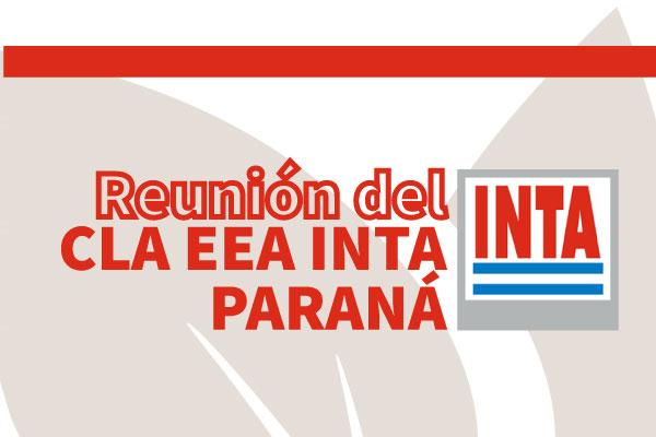 Informe Reunión CLA EEA Paraná – INTA