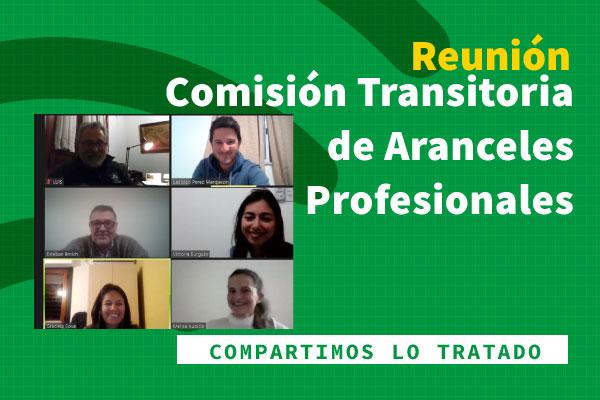 Comisión de Aranceles Profesionales, informe octubre