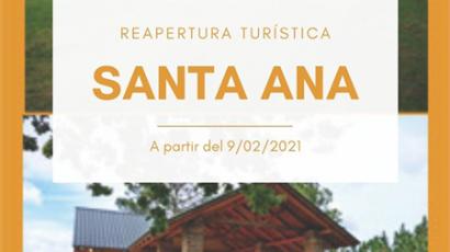Caja Prever: Apertura de complejo Santa Ana para vacacionar