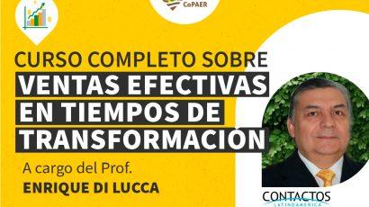 Curso completo sobre «Ventas efectivas en tiempos de transformación»