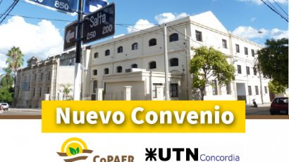 Nuevo convenio marco con la UTN Concordia