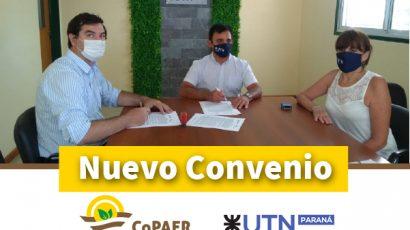 Nuevo convenio con la UTN Paraná
