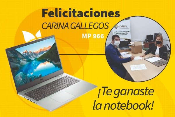 Sorteo de notebook