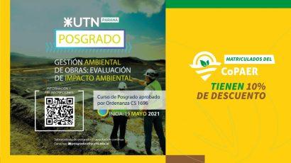 Posgrado. Gestión ambiental de obras: Evaluación de impacto ambiental
