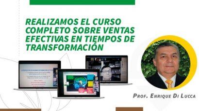 Se realizó el curso completo sobre «Ventas efectivas en tiempos de transformación»