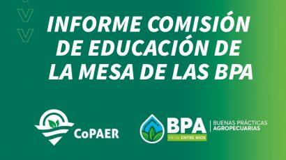 3º Encuentro de la Comisión de Educación de la Mesa BPA – ER