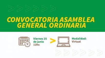 Convocatoria a la Asamblea General Ordinaria
