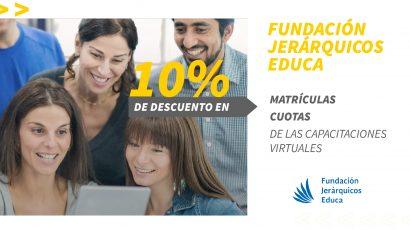 10% de descuento en la Fundación Jerárquicos Educa