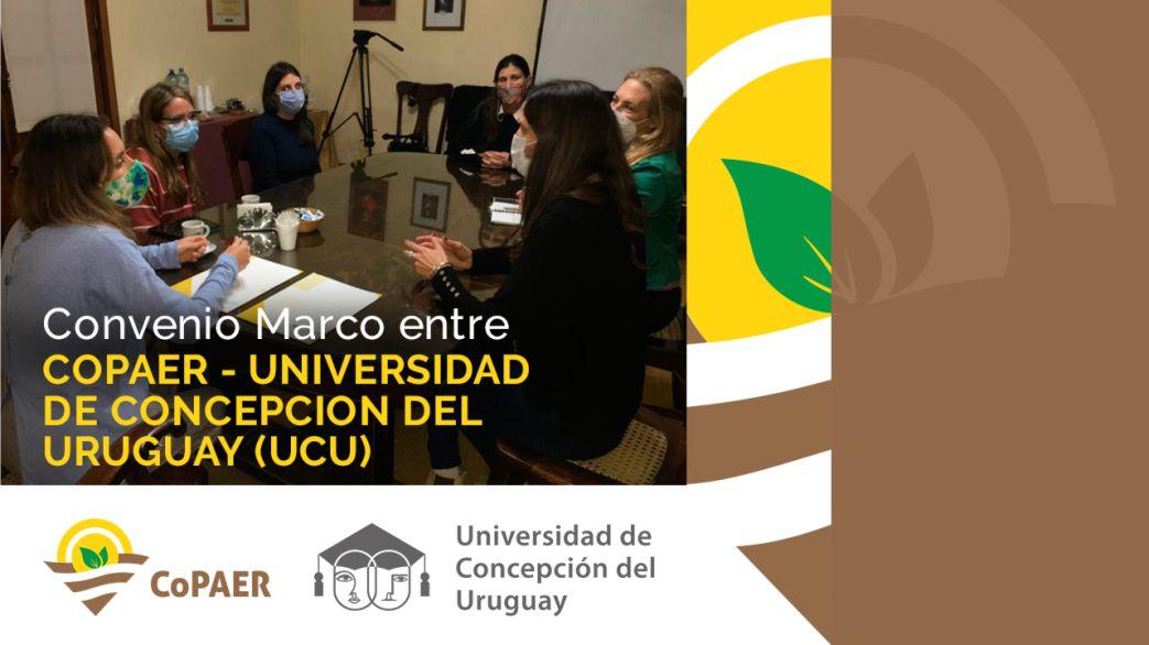 Convenio Marco de Vinculación y Cooperación entre CoPAER y UCU